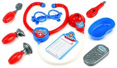 Play at Home Doctor Pretend Play Toy Medical Doctor Kit Play Set, Perfect for Role Playing *** You can get more details by clicking on the image.