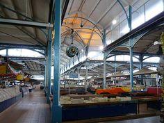 Les halles / marché couvert / Eiffel à Dijon
