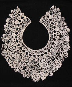 Irish crochet lace...I SO appreciate this! <3