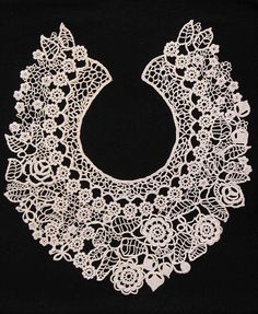 Irish crochet lace...I SO appreciate this! <3