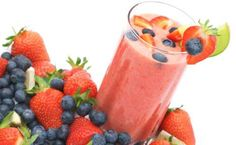 Mixed Berry Smoothie - Diabetic Friendly