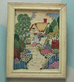 Sweet vintage embroidery
