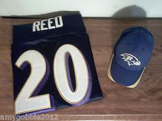 Ed Reed Authentic NFL Jersey & Hat $60.