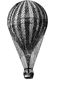 **FREE ViNTaGE DiGiTaL STaMPS**: Free Digital Stamp - Hot Air Balloon