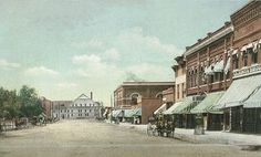 Business district of La Junta around the turn of the 20th century where my Great Aunt & Uncle lived when I was a child.  Saw my first real cowboy ranch handl there !
