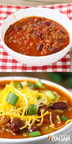 Wendy's Chili Copycat This recipe is for the Wendy's chili lover in you. Say what you will, Wendy's really makes some Best Chili Recipe, Chilli Recipes, Bean Recipes, Mexican Food Recipes, Crockpot Recipes, Soup Recipes, Cooking Recipes, Healthy Recipes, Wendys Copycat Chili Recipe