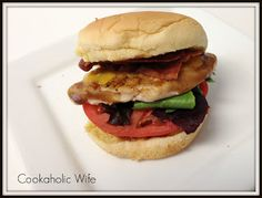 Cookaholic Wife: Cowgirl Chicken Sandwiches