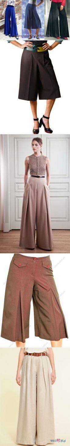 Как сшить юбку-брюки (построение выкройки) » Женский Мир