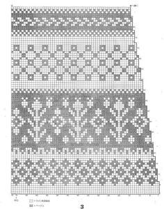 View album on Yandex. Fair Isle Knitting Patterns, Fair Isle Pattern, Knitting Charts, Loom Knitting, Knitting Stitches, Knitting Socks, Granny Square Crochet Pattern, Crochet Chart, Punto Fair Isle