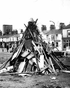 'Remember, Remember, the of November' ~ ready for the Guy Fawkes Night bonfire at Bourton-on-the-Water . 1970s Childhood, My Childhood Memories, Great Memories, Old Pictures, Old Photos, Guy Fawkes Night, Bonfire Night, School Memories, The Good Old Days