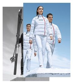 Fashion Diplomacy At 2018 Winter Olympics  When Uniforms Compete. Jogos  Olímpicos De ... 31b45e64ba967