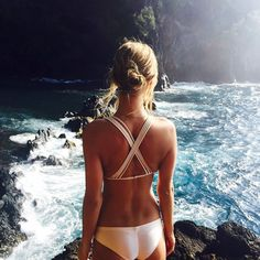 Swimsuit Style | via parisiansecrets