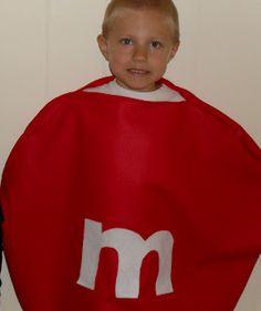 Easy M & M Halloween Costume