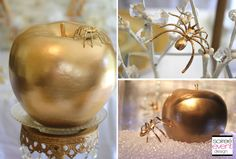 | �Bitten� Snow White Witch�s party   Budget Chic Tips   Gold Trend | http://soiree-eventdesign.com