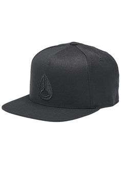 213c2960c3e Casquette Snapback Icon 110 - All Black