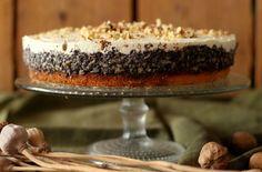 Jablkovo-maková torta