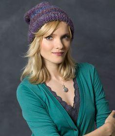 Rib Knit Hat Free Kn
