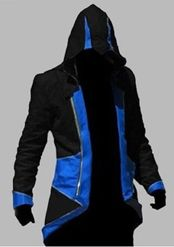 Buy Assassins Creed 3 III Conner Kenway Hoodie/Coat/Jacket Cosplay Costume BNWT at online store Assassins Creed Hoodie, Mode Masculine, Conner Kenway, Assassin Costume, Mode Sombre, Boy Costumes, Halloween Costumes, Women Halloween, Halloween Masquerade