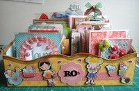 A Project by RoPhilippsen from our Scrapbooking Gallery originally submitted 10/20/11 at 05:57 PM Arts And Crafts, Paper Crafts, Card Crafts, Scrapbook Pages, Scrapbooking, Card Storage, Altered Boxes, Helpful Hints, Handy Tips