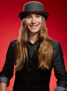 """19 May 2015 - Sawyer Fredericks was officially crowned the season 8 winner of The Voice. The upstate New York native opened up about his plans following the grand finale during a press conference with host Carson Daly & his mentor Pharrell Williams. The folk singer, the youngest contestant of the season, was a frontrunner since he first took the stage to sing Soggy Bottom Boys' """"I Am a Man of Constant Sorrow"""" for his blind audition."""