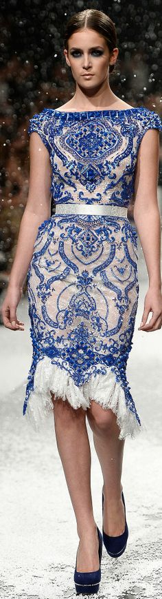 Ezra Spring-Summer 2014 Couture | The House of Beccaria~