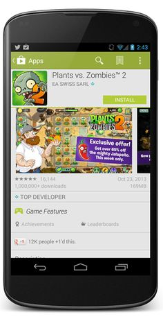 PLANTS VS ZOMBIES 2 FOR ANDROID NOW AVAILABLE WORLDWIDE! Posted on Oct 24, 2013    The mobile industry is a collection of platforms through ... Plant Zombie, Zombie 2, Plants Vs Zombies, Get Over It, Google Play, Platforms, Laptops, Android, App