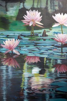 """Here is number five new painting for 2018. It is 24"""" x 36"""" Acrylic and is Titled """"Transcendental Tranquility""""! Been a while since you even heard that word, I'd bet! See if the painting doesn't bring that kind of Peace to you after you look at it for a while!"""