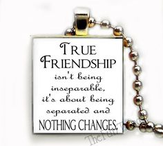 Friendship Quote Recycled Scrabble Tile Pendant Jewelry Necklace Friends Bff 03