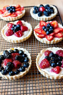 Summer Berries Fruit Tart