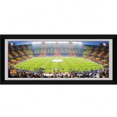 F.C. Barcelona Picture Nou Camp 30 x 12