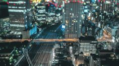Tokyo Becomes A Toy Town In Tilt-Shifting Timelapse