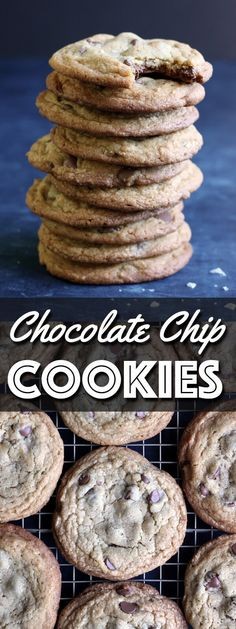 This is the best Chocolate Chip Cookies recipe you will ever need. They are chewy yet soft, and have the perfect balance of sweet and salty! | wildwildwhisk.com