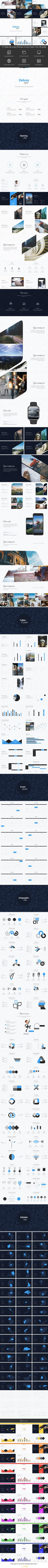 Deluxe Digital Powerpoint Template - Business PowerPoint Templates