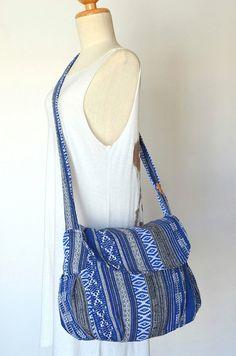 Hippie Messenger Bag Handbags Nepali Woven Bag by Dollypun on Etsy