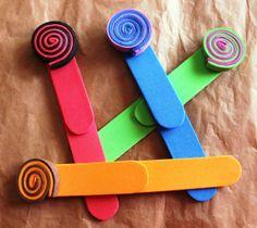 Marcadores de GomaEva (Foam) en diferentes colores. 2€ cada uno