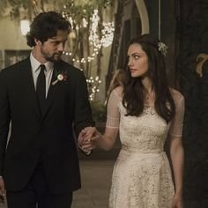 """The Originals -- """"I Love You, Goodbye"""" -- Image Number: -- Pictured (L-R): Nathan Parsons as Jackson and Phoebe Tonkin as Hayley -- Photo: Tina Rowden/The CW -- © 2015 The CW Network, LLC. All rights reserved. Daniel Sharman, Daniel Gillies, Phoebe Tonkin, Charles Michael Davis, Vampire Diaries Spin Off, Vampire Diaries The Originals, Danielle Campbell, Joseph Morgan, Claire Holt"""