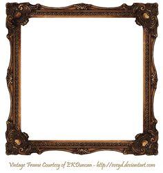 Incroyable Elaborate Wood Scroll Frame 2 By EKDuncan By EveyD.deviantart.com On  @DeviantArt
