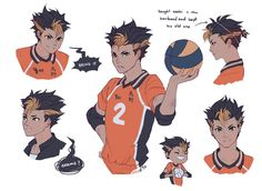 """soodyo: """" what if noya gets lightning hair in his 3rd year to take the rolling thunder thing to the next level """""""