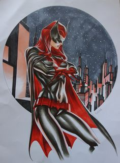 Batwoman by Thony Silas Comic Art Dc Comics Girls, Dc Comics Art, Fun Comics, Batwoman, Batgirl, Gotham, Art Of Noise, Pin Up, Hq Dc
