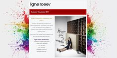 Ligne Roset Emailer we did - see more info here: http://onepartscissors.com/2011/02/ligne-roset-email-advert.html