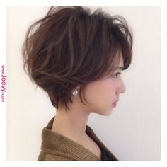 Pin on ヘアスタイル Japanese Short Hair, Asian Short Hair, Girl Short Hair, Short Hair With Layers, Layered Hair, Short Hair Cuts, Short Hair Styles, Short Bob Hairstyles, Cool Hairstyles