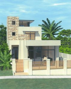 Luxury 3 storey modern home design in Cottesloe