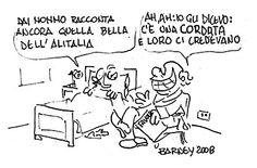 Barney - Corriere della Sera 4 aprile 2008