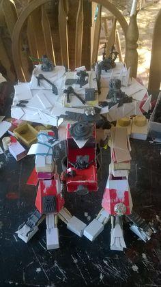 Scratch Built Looted Titan in Progress