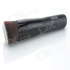 Plastic & Fiber Cosmetic Makeup Brush - Black