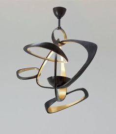 Love the sculptural form of this Herve Van der Straeten Pendant