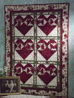 Quilting - Holiday & Seasonal Patterns - Valentine's Day Patterns - Made With Love