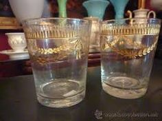 Vasos cristal de la granja