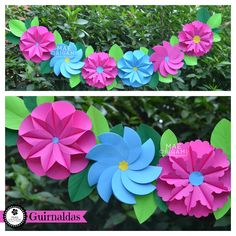 ≫∙∙ Mae origami ∙∙≪ paper flowers