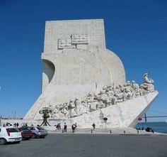 Monumento dos descobrimentos, Lisboa, Portugal